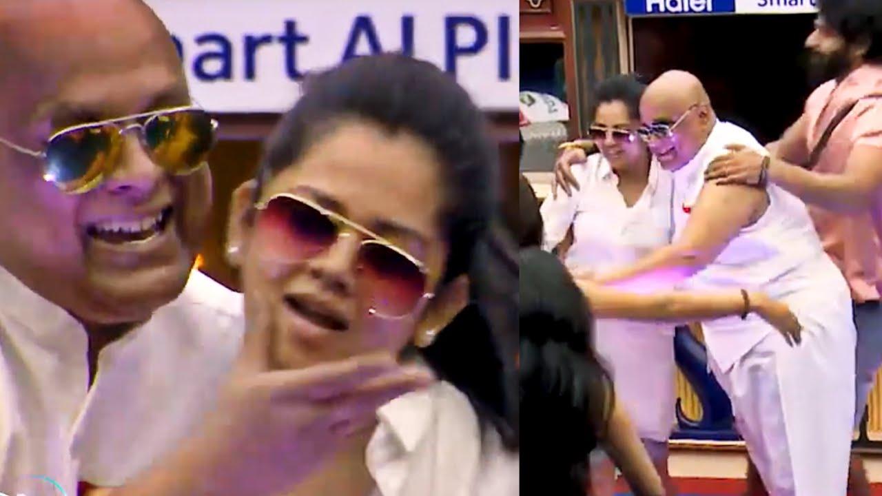 Anitha Sampath Suresh Chakravarthy Chinna Machan dance video