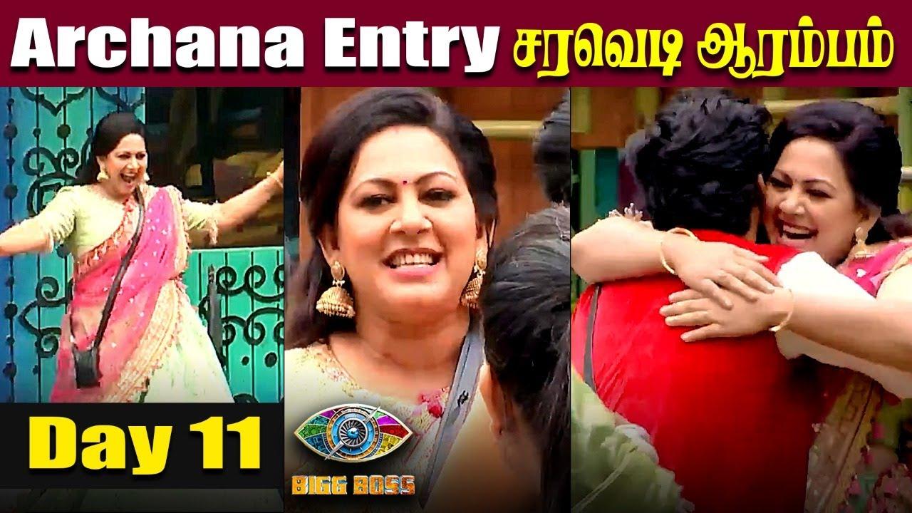 Bigg Boss Tamil Archana wild card entry