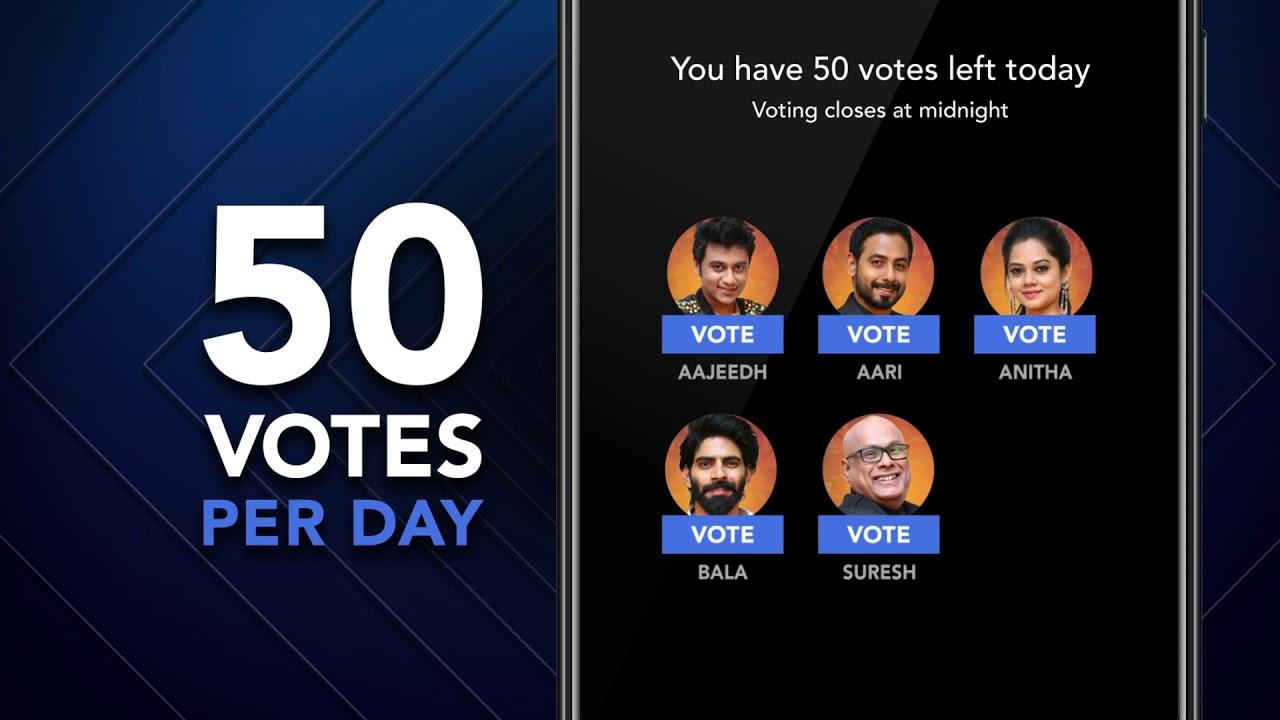 Bigg Boss Tamil Vote 3rd Week Eviction