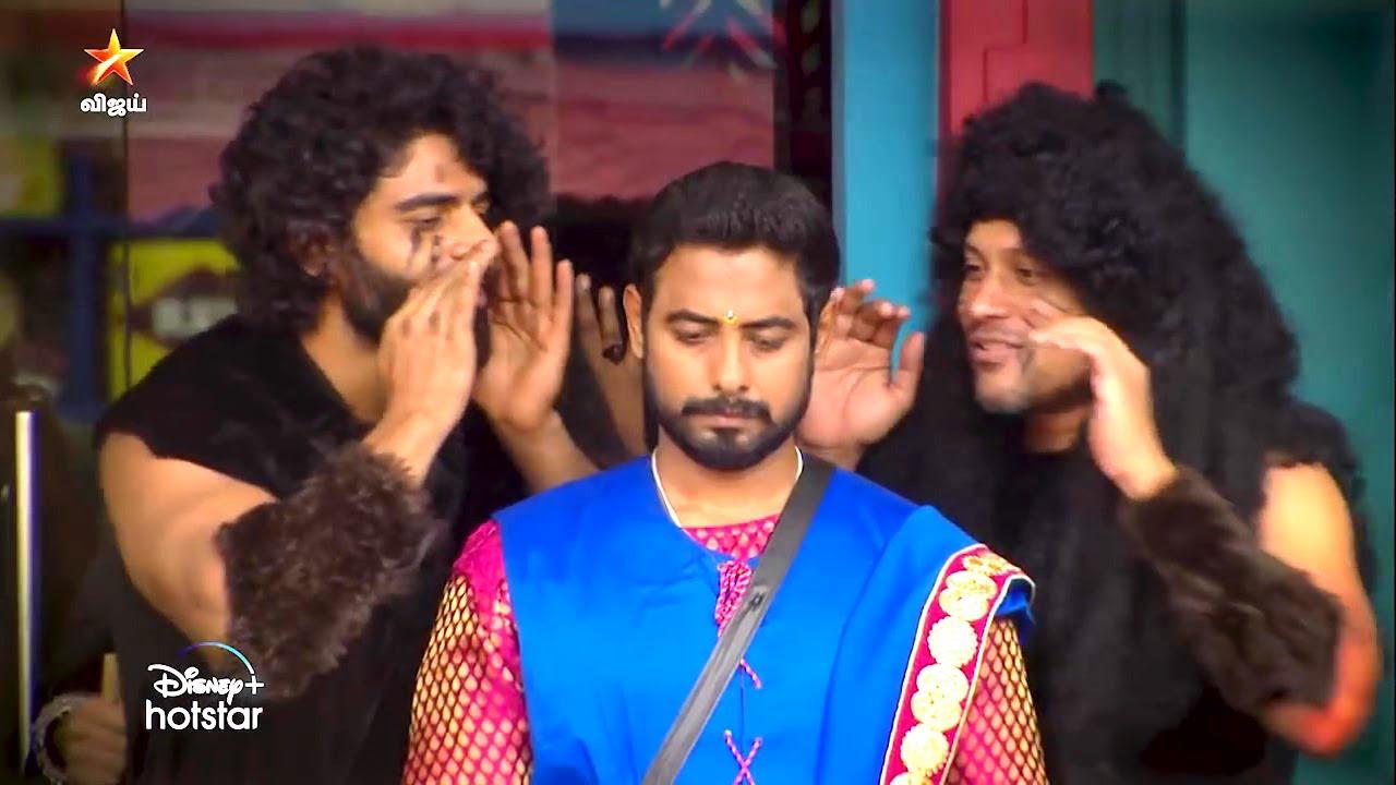Bigg Boss Tamil aari fight with Balaji