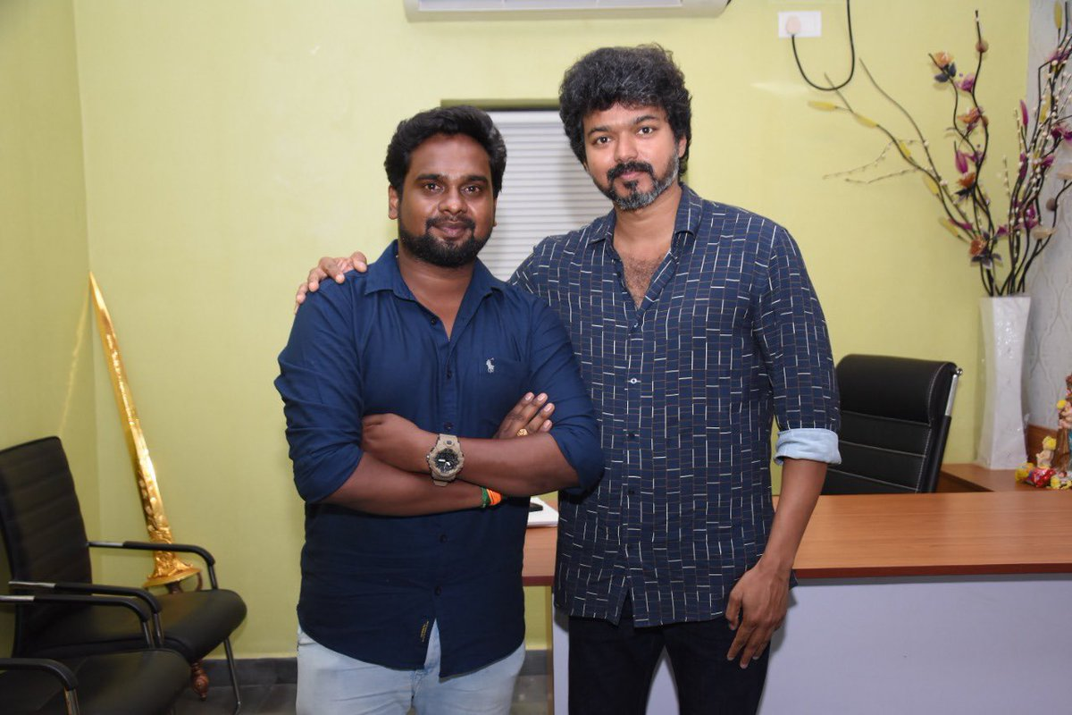 Thalapathy Vijay latest photos