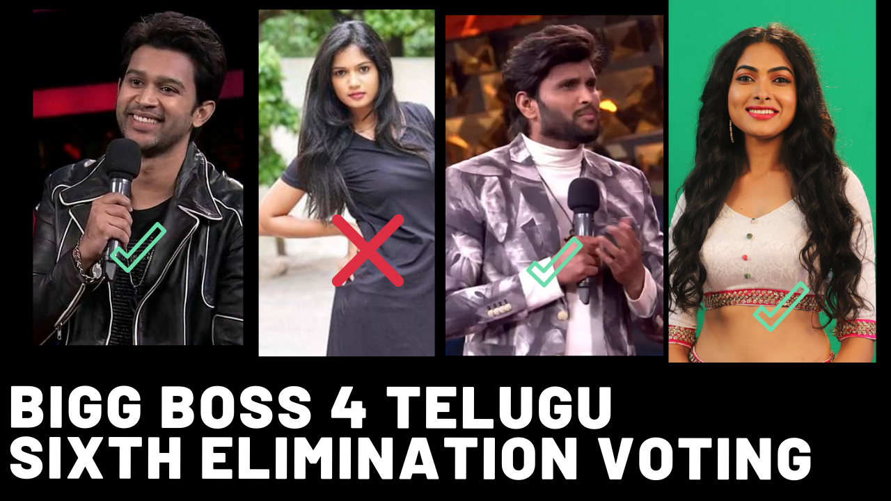 bigg boss voting results telugu week 6