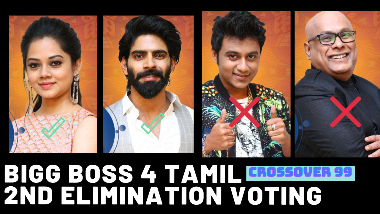 bigg boss 4 tamil voting results 2nd elimination