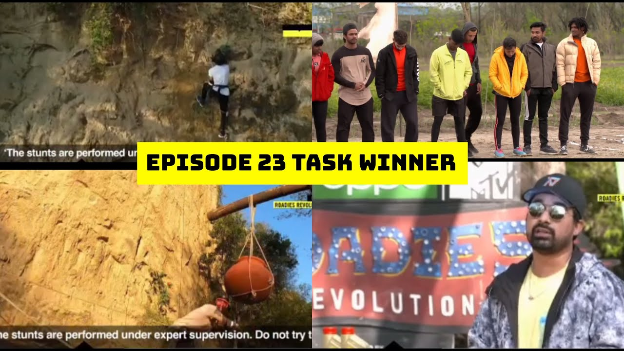roadies revolution 23rd episode task winner