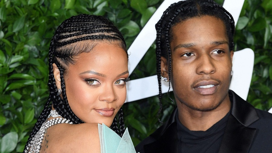 Rihanna and A$AP Rocky Spend Christmas Together in Barbados
